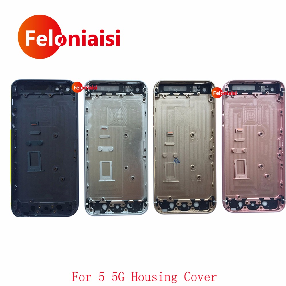 For IPhone 5 Housing 5G 5S Body SE Housing Battery Cover Door Rear Cover Chassis Frame Back Cover Housing IMEI