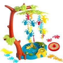 Настольная игра обезьяна качели дерево для забавных игр вечеринок