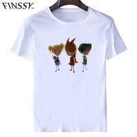 2017 Fashion T Shirt Create A Shirt Online Short Summer O Neck Mens The Powerpuff Girls