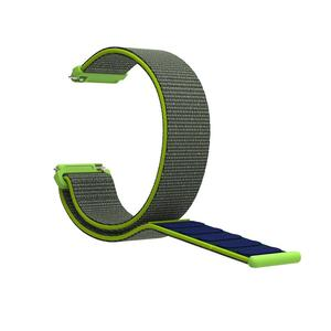 Image 5 - Nylon Loop Strap Sports Loop Nylon Watchband Breathable Absorbent Sweat absorbent For Pebble Time 1 2 Generation