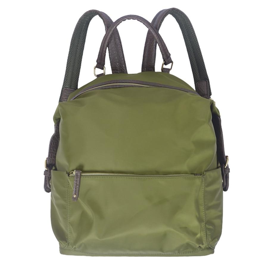 2017 High Quality Nylon Women Backpacks Fashion School Student Bag Traveling Backpack Waterproof Mini Bag Black Army Green Color