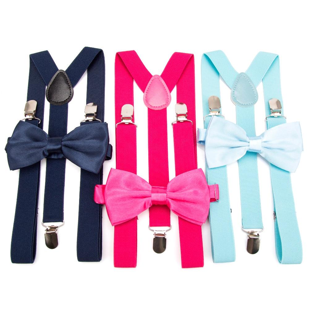 Suspenders Bow Tie Set Men Fashion Suspensorio For Man Boy Women Bowtie Braces Trousers Tirantes Wedding Leisure Shirt Stays