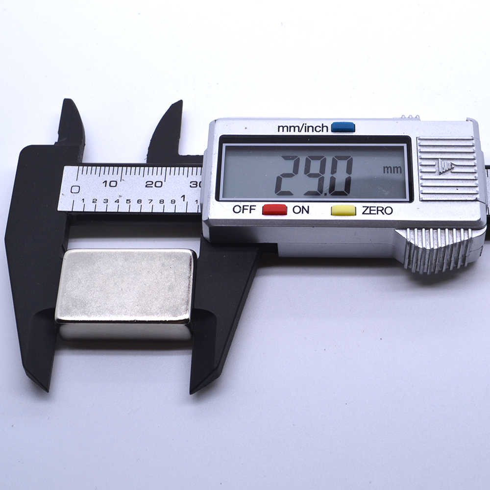 2 個 30 × 20 × 10 ミリメートル N35 希土類スーパー強力な永久磁石立方体ブロックネオジム磁石 30*20*10 30 × 20 × 10