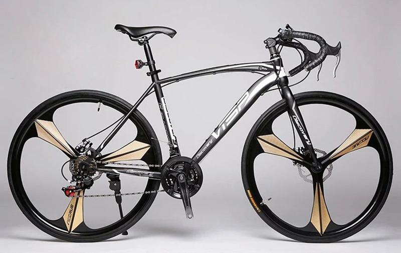 Fixie Bike DISC Brake Road Bike Frame 52cm Frame 21 Speed 27 Bicicletas Frame Road Bike Track Bicycle VISP Fixed Gear Cycling