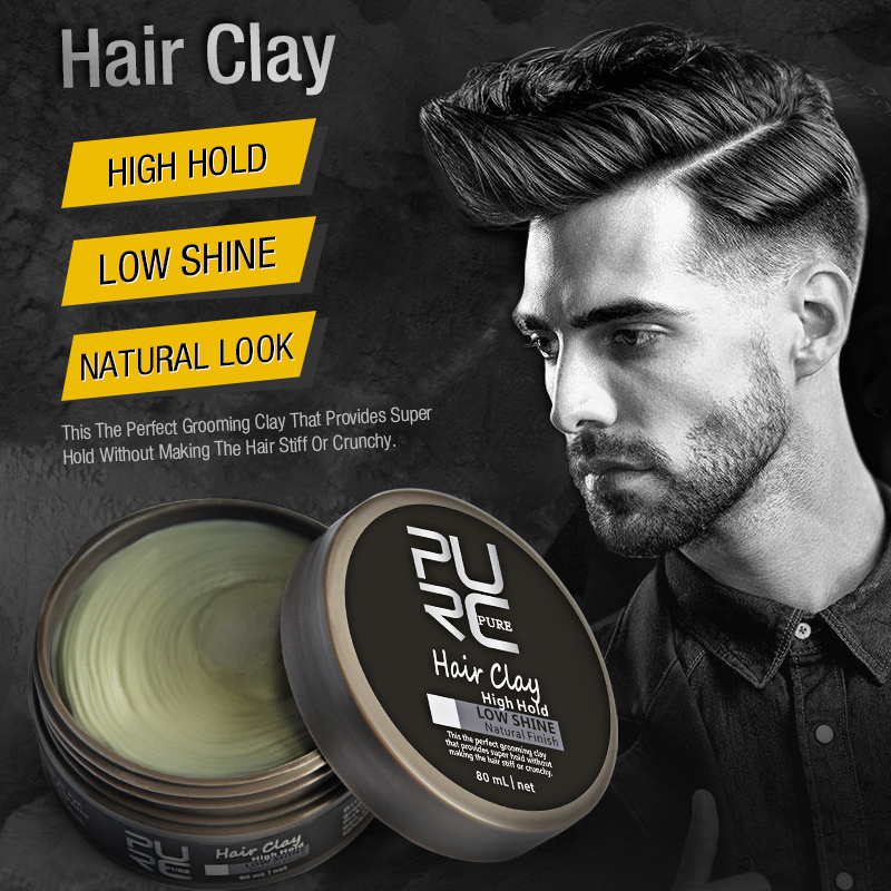 styling wax for hair 2017 selling original hair clay coloring hair styling 8575 | 2017 hot selling Original Hair Clay Coloring hair styling wax High Hold Low Shine hair clay
