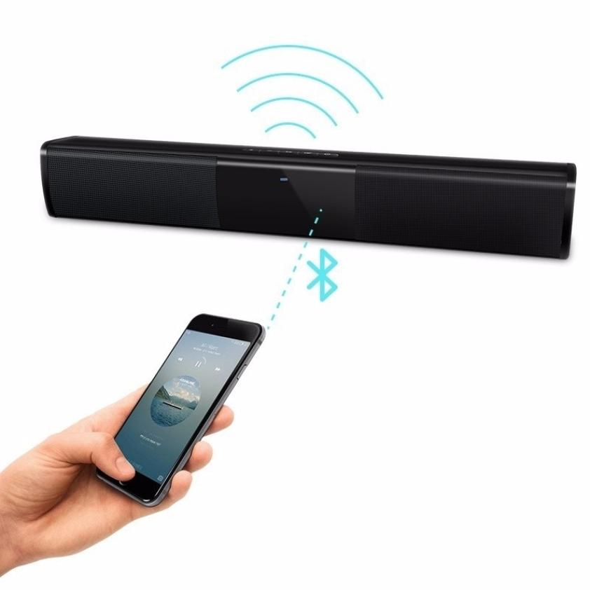 Wireless Bluetooth Speaker Portable TV Soundbar 10W Big Power HIFI Stereo Home Theater System MP3 Player USB Computer Sound Box