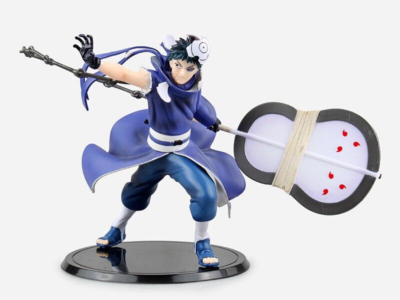 ФОТО Naruto Action Figures Uchiha Obito Japanese Anime Figure PVC Figurine Toys Naruto Shippuden Movie Anime Figure Obito with in box