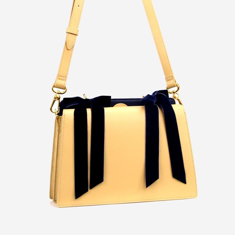 6ff02e3f4b3c Retro Style Luxury Handbags Women Bags Singapore Designer Brand Designer  Shoulder Crossbody Bags Split Leather Totes Velvet Bow-in Shoulder Bags  from ...