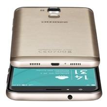 "Origine Doogee Y6 LTE 4G 5.5 ""HD MTK6750 octa base Android 6.0 Smartphone 16MP 2 GB RAM 16 GB ROM Dual Sim D'empreintes Digitales OTA"