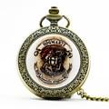 PB412 Retro Necklace Hogwarts School Men Pocket Watch Gifts