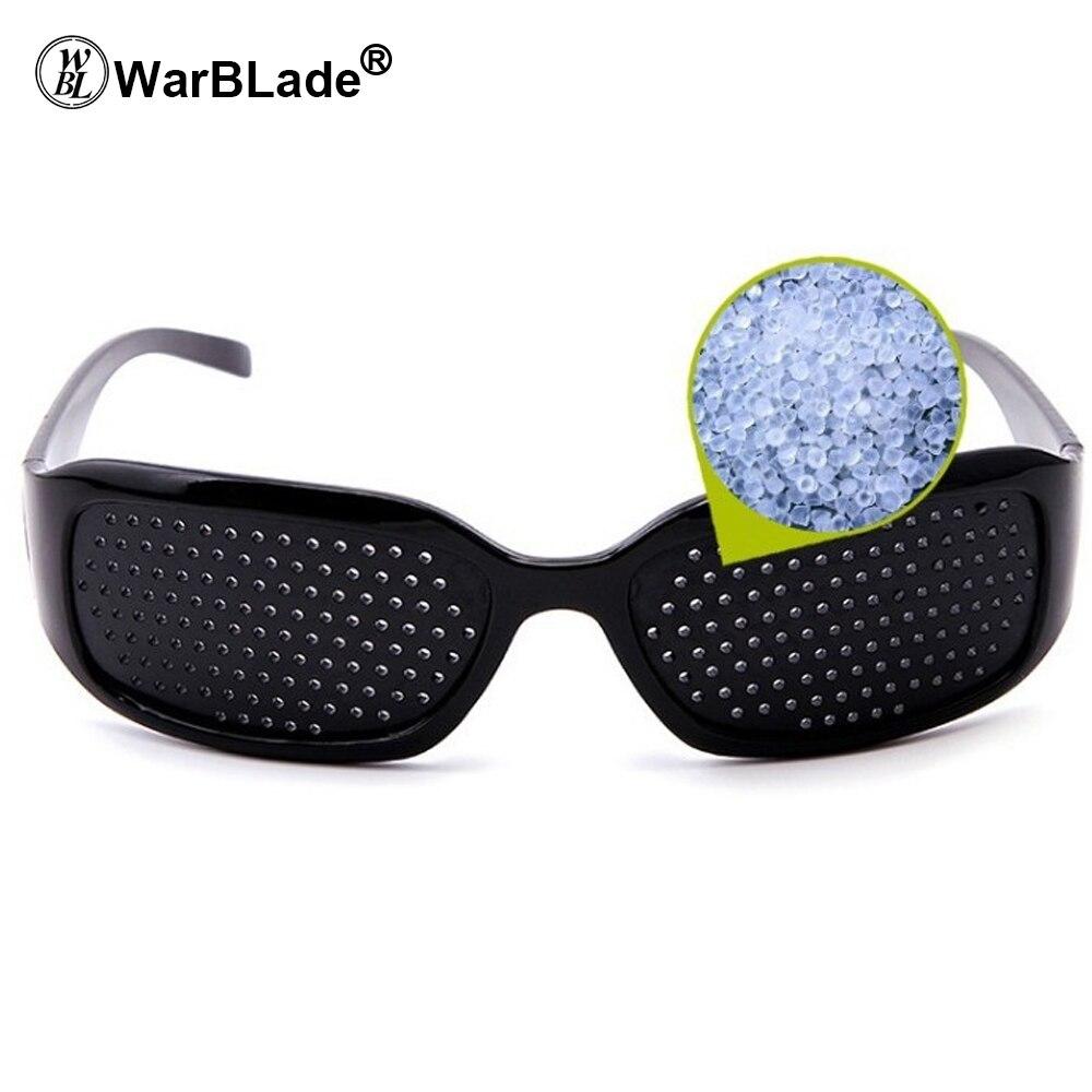 WarBLade Child Anti-myopia Glasses Women Vision Care Pin hole Sunglasses Eyesight Improve Natural Healing Anti-fatigue 3