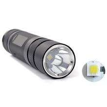 CREE XP-L HI V3 LED Mini LED Flashlight Torch with 5 Files, 1200LMs EDC Pocket Penlight Outdoor Portable Emergency Light Lantern