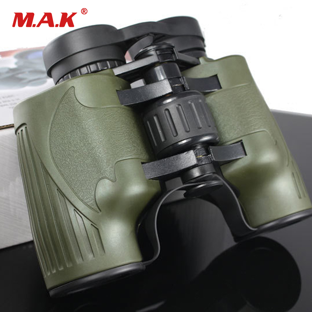 Military Outdoor 8X36 One-piece Binoculars Large Eyepiece High-power HD Telescope 131m/1000m Camping Hiking Scopes цена