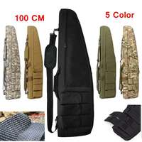 100cm Hunting Shotgun Bag Tactical Rifle Case Shotgun Backpack Gun Scabbard Outdoor Sports Carrying Shoulder Bag