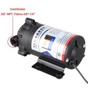 Image 3 - Osmosi inversa Pompa Booster 50 GPD per 75 Gallon 24 v Trasformatore Con Raccordi Rapidi Aumentare Depuratore di Acqua di Flusso di Pressione pompa