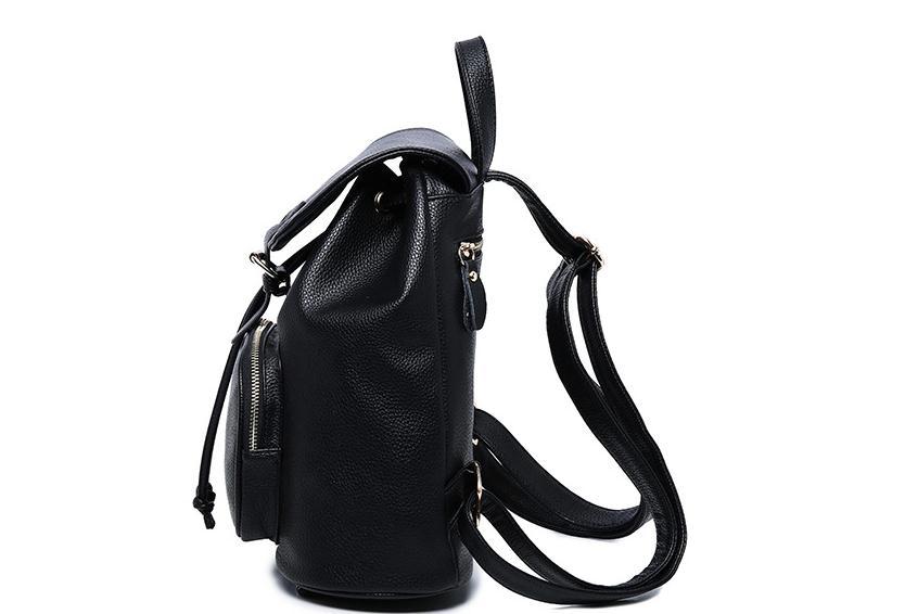 En été 2018, le nouveau sac à dos de voyage de vacances PU femme de loisirs mode et sac à bandoulière confortable - 6