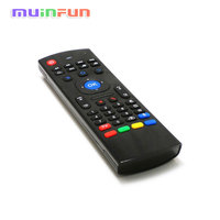 3D Air Fly Mouse MX3 2 4GHz Wireless Remote Control With 6 Axis Mic Mini Keyboard