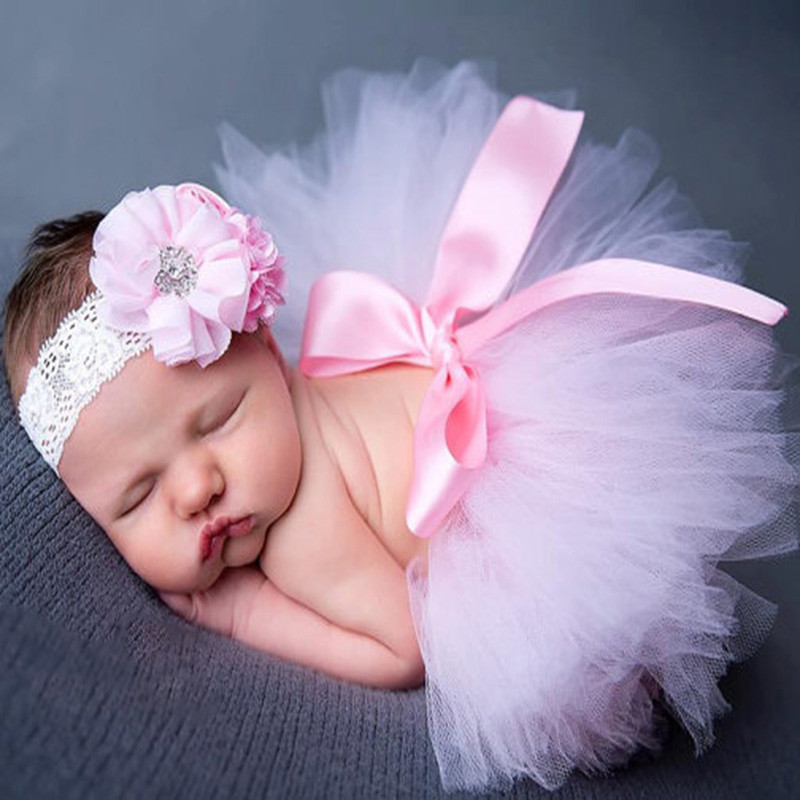 Newborn Photography Props Baby Tutu Skirt Infant Photo Costume Design Photo Props фотосессия новорожденных ropa bebe fotografia image