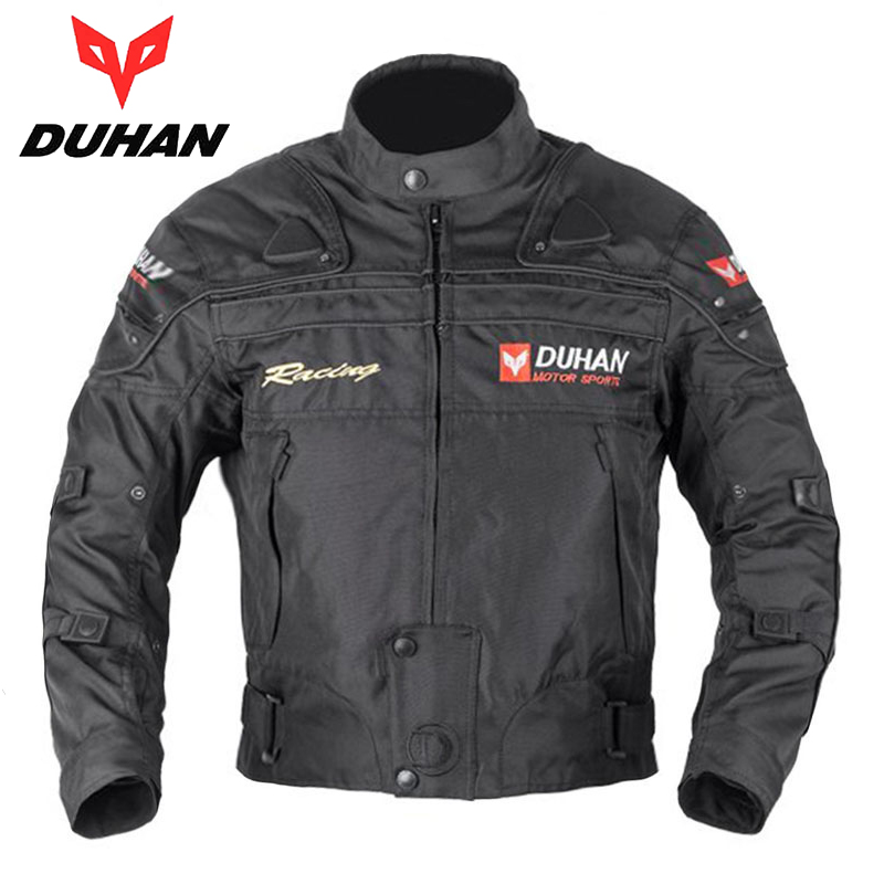 DUHAN Men Motocross Off-Road Enduro Racing Jacket Motorcycle Riding Jackets Moto Jacket Windproof Jaqueta Motoqueiro Clothing fashion sewor men luxury brand auto date leather casual watch automatic mechanical wristwatch gift box relogio releges 2016 new