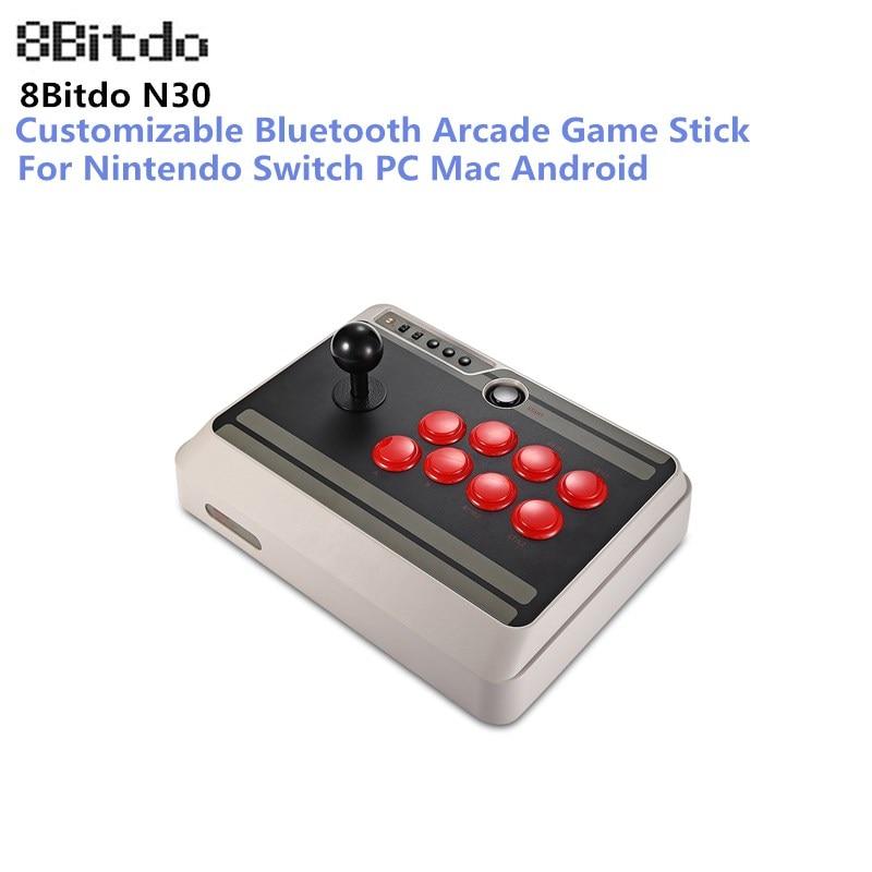 8 Bitdo N30 Arcade Game Pad Controller Bluetooth Joystick Gamepad Senza Fili di Bluetooth per Nintendo Interruttore PC Mac Android Phone