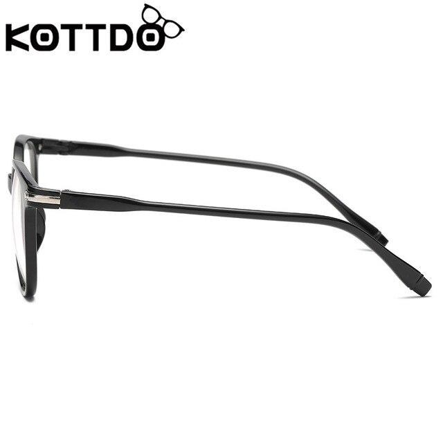 4e2d9a33c03 KOTTDO Fashion Transparent Glasses Optical Glasses Frames For Women Cat Eye  Glasses Frame Men Eyeglasses Eyewear ...
