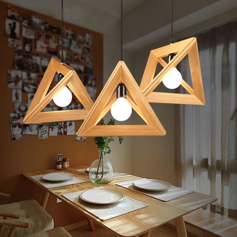 Wooden Study Room: Modern Bar Restaurant Bedroom Study Room Wooden Pendant