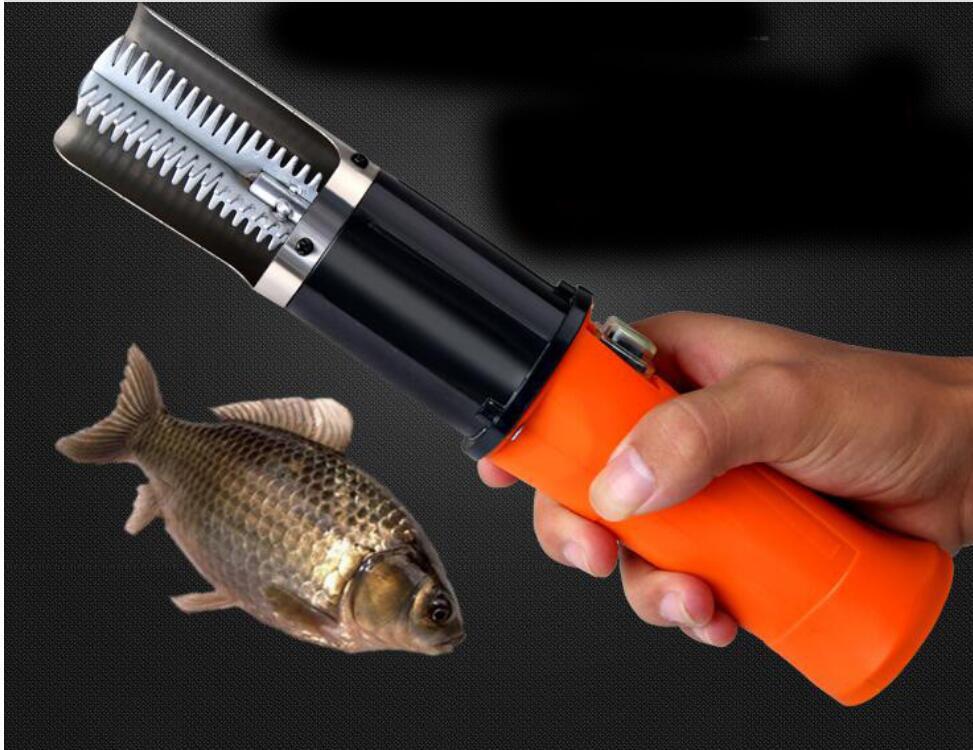 Discreto Rascador Eléctrico Para Pesca, Escalador, Limpiador Para Eliminar Peces, Limpiador A Prueba De Agua Para Limpiar Peces 1 Unidad