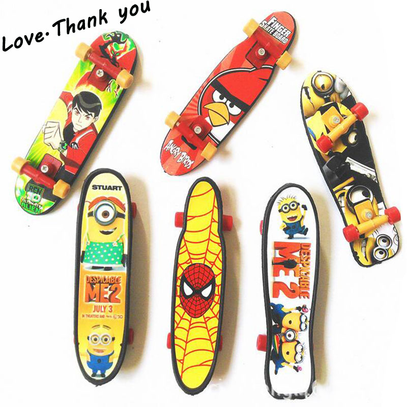 10pcs Random different style Fingerboard Tech Decks 96mm Mini Skateboard Original Boys T ...