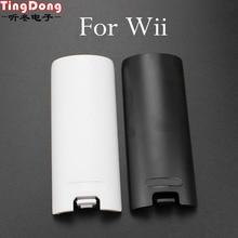 TingDong Caso Tampa Da Bateria Shell Para Nintendo WII Remote Controller