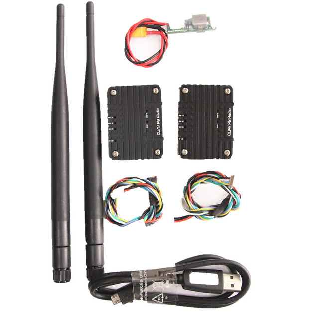 CUAV P9 900MHZ Radio Telemetry Wireless Transmission Module Pix for  FPV Data Transmission Station Pixhack Pixhawk long distance