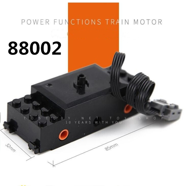 Technic Train Motor Remote Receiver LED Light Battery Box Power Functions legoinglys technic Power functions Blocks Accessories