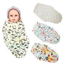 Blanket Swaddle-Wrap Baby-Products Newborn Infant 100%Cotton Parisarc Soft Sleepsack