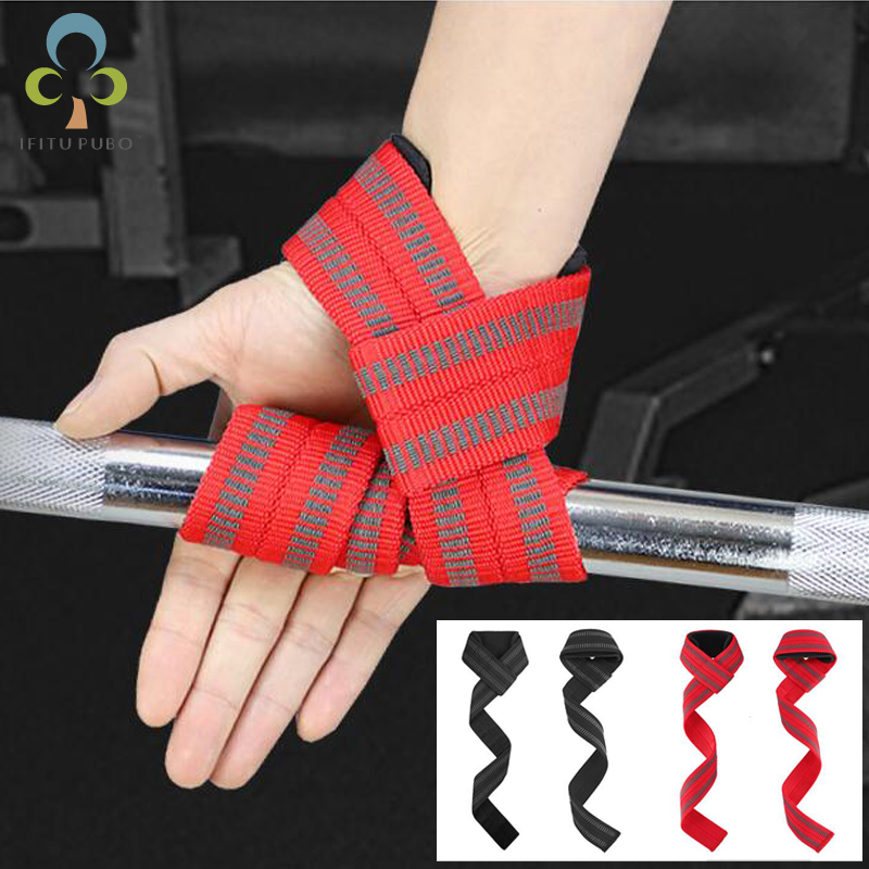 Dutiful 1pair=2pcs Weight Lifting Hand Wrist Belt Protection Body Building Grip Strap Brace Band Gym Straps Weight Lifting Handwraps Gyh Be Shrewd In Money Matters Weight Lifting