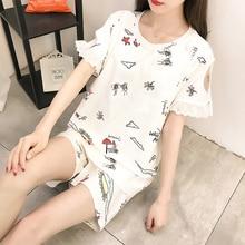 Pizsama a terhes nőknek Lágy szoptatás Szoptatás ruházat nyár vékony pamut rövidnadrág ruhák öltöny Anyaság
