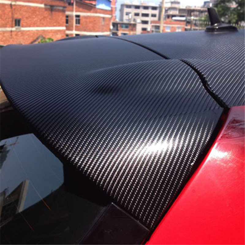 Universal Carbon Fiber black Car handle protection 4D Vinyl Film Stickers car exterior automotive accessories for all cars