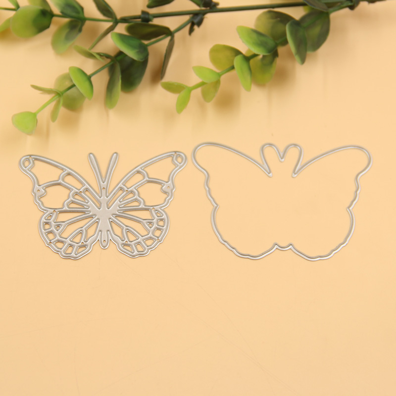 1set Butterfly Frame Metal Scrapbooking Die Cuts Craft Decorative ...