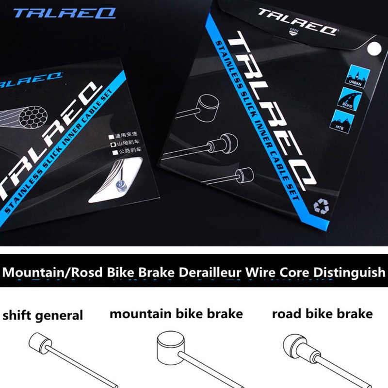 1PCS Slick Stainless Shift Derailleur Shifter//Brake inner Cable for shimano sram