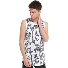 Fashion Men's Tank Tops Cotton Brand Sleeveless Undershirts For Male Bodybuilding Tank Tops  Casual Summer Vest   B4008