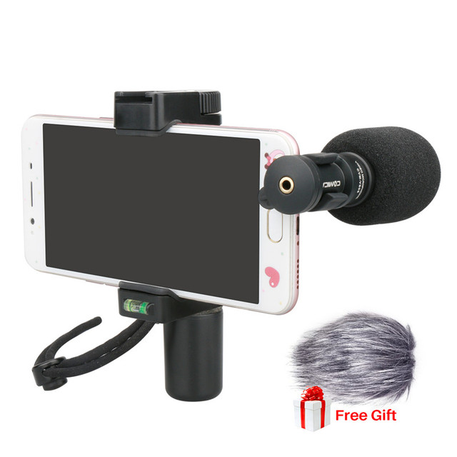 Comica CVM VS08 Mobile Phone Microphone Video Mic For
