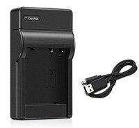 Carregador de bateria para sanyo xacti VPC-GH1  VPC-GH2  VPC-GH3  VPC-GH4  VPC-PD1  VPC-PD2  VPC-PD2BK  VPC-CS1  VPC-CS1EX-B  filmadora