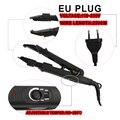 Loof Fusion Hair Extension Iron Keratin Bonding Tools Adjustable Temperature Fusion Heat Connector+UK/EU/US plug