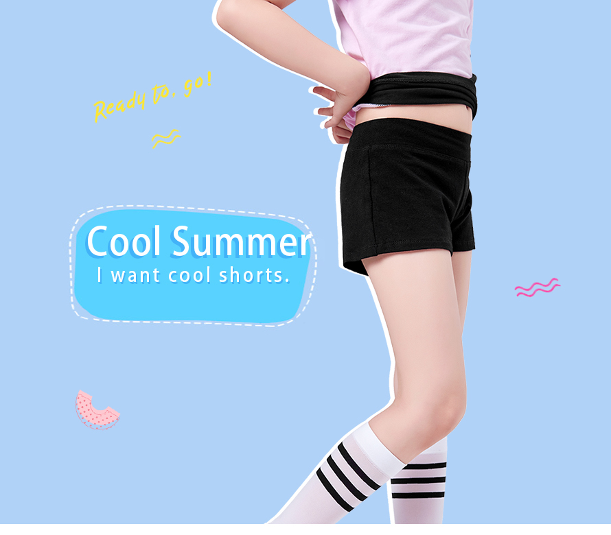c9390a604 2019 Girls Yoga Dance Jogging Shorts Black Shorts Kids Clothing ...