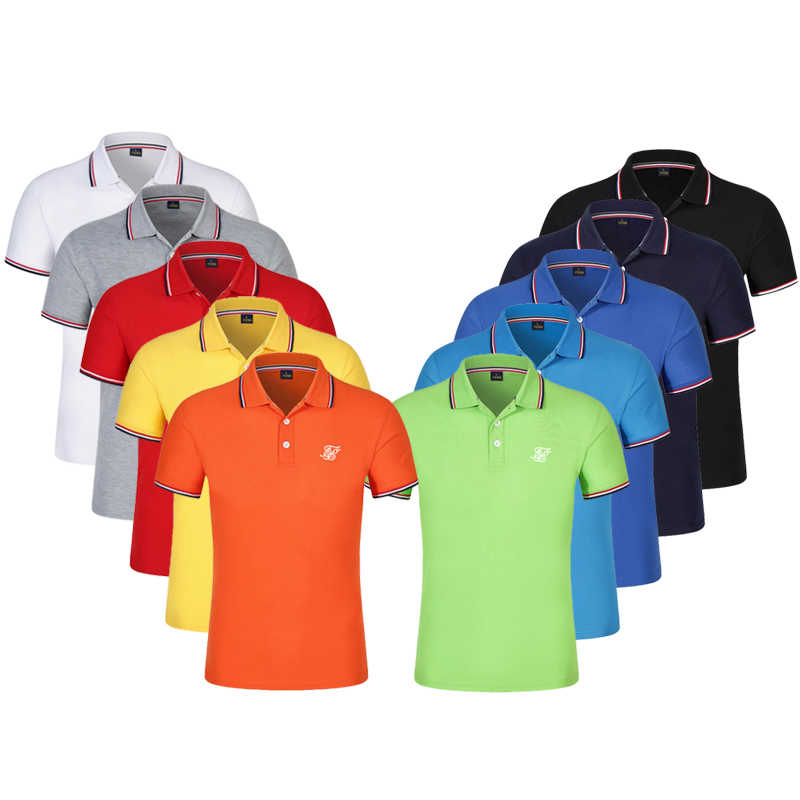 10colors Size S-3XL Brand New Men's Polo Shirt Men Cotton Short Sleeve shirt Brands jerseys Mens Shirts polo shirts