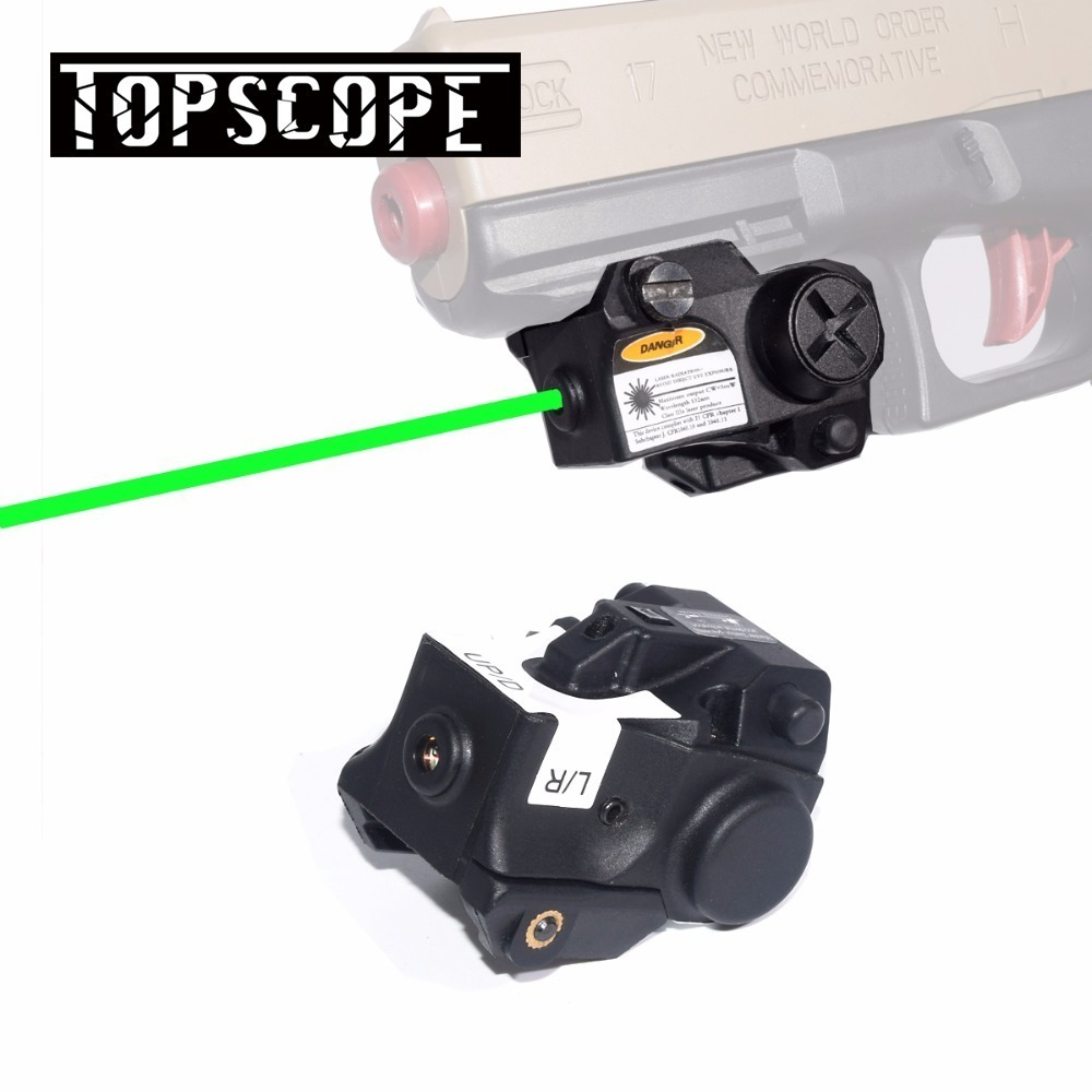 Green Dot Pistol Laser Sight 532nm 5mw Subcompact Tactical Green Laser Gun Sight Scope for Picatinny Rail RifleGreen Dot Pistol Laser Sight 532nm 5mw Subcompact Tactical Green Laser Gun Sight Scope for Picatinny Rail Rifle