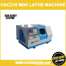 CNC210-G мини-токарный станок с ЧПУ/750 Вт Мотор/GSK 928TEA чпу контроль systme/Мини DIY токарный станок