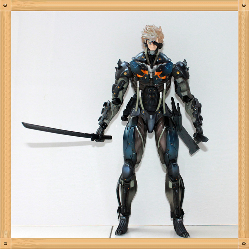 Metal Gear Rising Revengeance Raiden Action Figure 1/8 scale painted figure Metal Gear Solid Rising Raiden Doll PVC ACGN figure rising cd