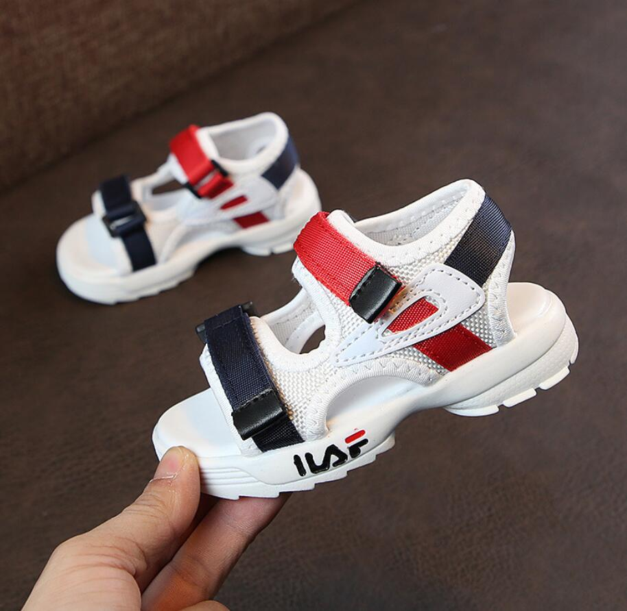 2019 Summer New Baby comfortable sandals boy girls beach shoes kids casual sandals children fashion sport sandals size 21-302019 Summer New Baby comfortable sandals boy girls beach shoes kids casual sandals children fashion sport sandals size 21-30