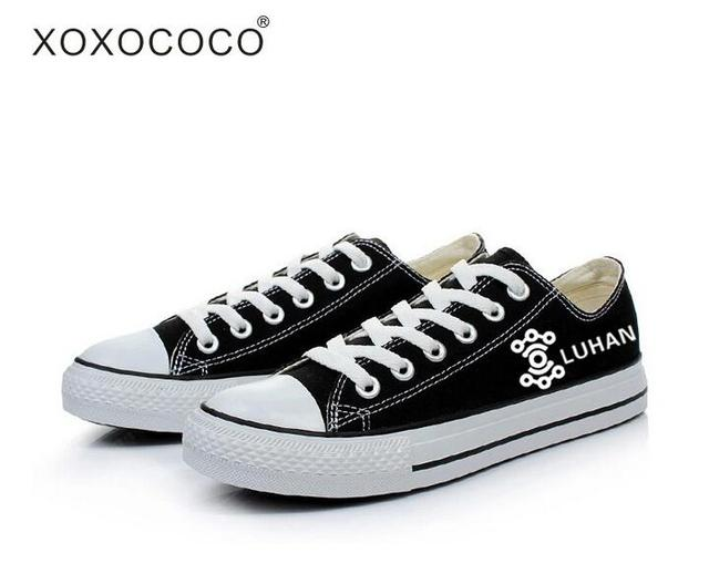 Full Black Canvas Shoes