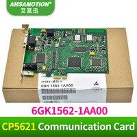 Placa de Comunicação CP5621 PCI-CARTE 6GK1562-1AA00 Para Siemens CP5621 A2 DP MPI PPI 1AA00 CP5621 CP5611 Comunicação Cartão Cartão