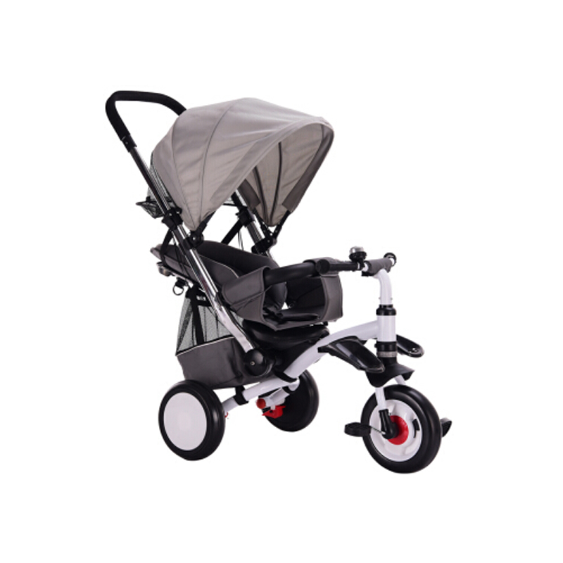 abdo 2019 New Children 39 s Tricycle Trolley Lightweight Children Car Bicycle Easy To Carry Baby Stroller Carriage in Ride On Cars from Toys amp Hobbies